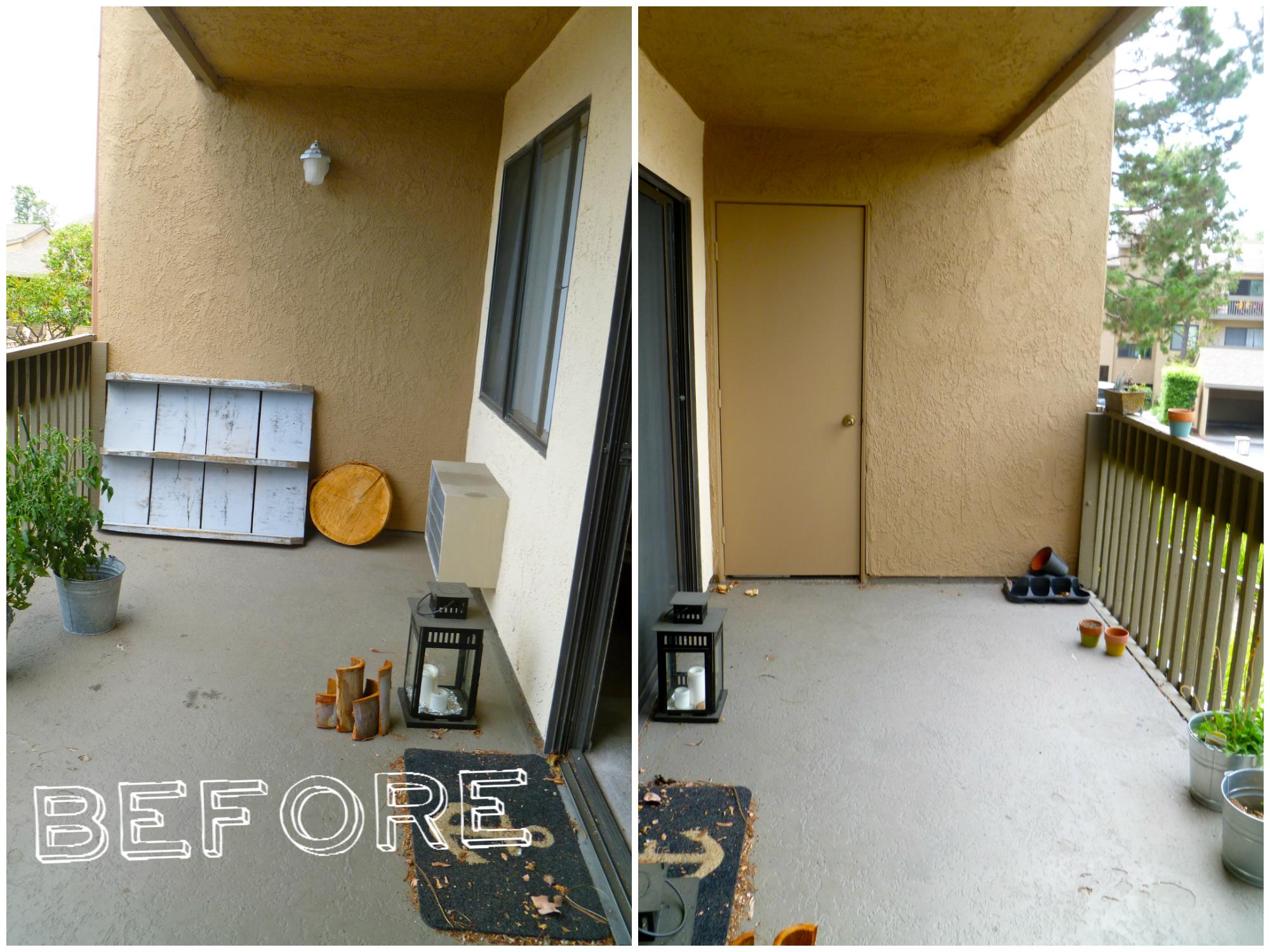 Apartment Balcony Makeover: Balcony chic big medium tiny. Simple ...